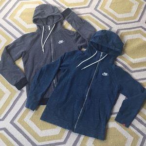 Bundle Nike heavyweight full zip hoodies